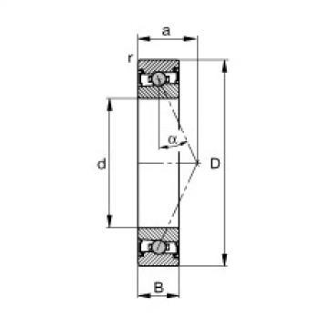 FAG Spindellager - HCS7000-E-T-P4S