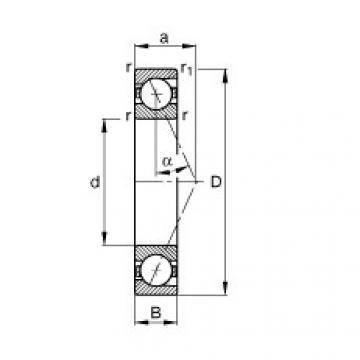 FAG Spindellager - B71915-E-T-P4S