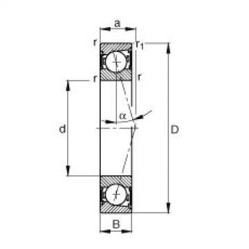 FAG Spindellager - B7215-C-2RSD-T-P4S