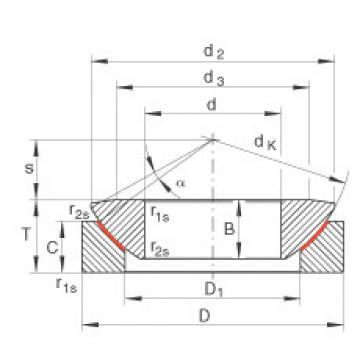 FAG Axial spherical plain bearings - GE300-AW