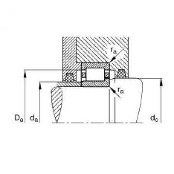 FAG Zylinderrollenlager - NJ415-XL-M1 + HJ415