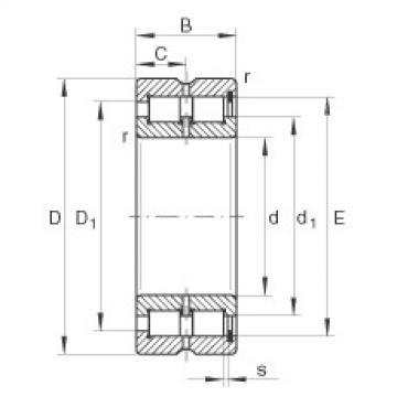 FAG Zylinderrollenlager - SL185015-XL