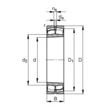 FAG Pendelrollenlager - 22315-E1-XL-K-T41A