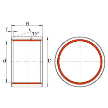 FAG Cylindrical plain bushes - ZGB45X53X40