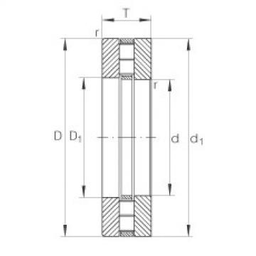 FAG Axial-Zylinderrollenlager - 89314-TV