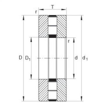 FAG Axial-Zylinderrollenlager - 89414-TV