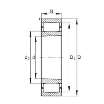 FAG Toroidalrollenlager - C2314-XL-K