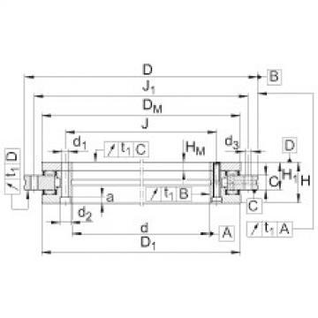 FAG Axial/radial bearings - YRTM325