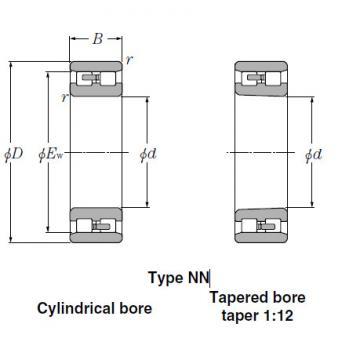 Bearings Tapered Roller Bearings NNU4938K