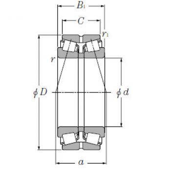 Bearing T-M244249D/M244210+A