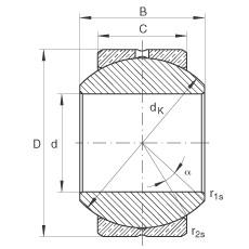 FAG Radial-Gelenklager - GE10-PB