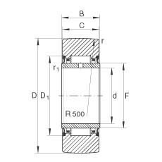 FAG Stützrollen - NA2200-2RSR