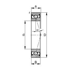 FAG Spindellager - HSS71916-C-T-P4S