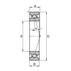 FAG Spindellager - HS71900-C-T-P4S