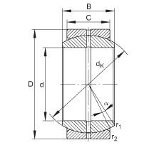 FAG Radial-Gelenklager - GE10-DO