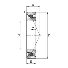 FAG Spindellager - HC7000-E-T-P4S