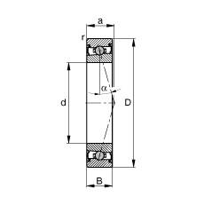 FAG Spindellager - HCS71915-C-T-P4S