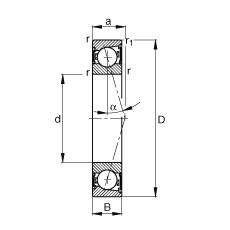 FAG Spindellager - B71900-C-2RSD-T-P4S