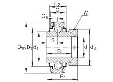 FAG Spannlager - G1215-KRR-B-AS2/V