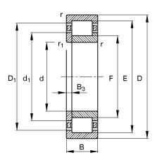 FAG Zylinderrollenlager - NUP2314-E-XL-TVP2