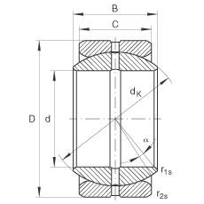 FAG Radial-Gelenklager - GE76-ZO