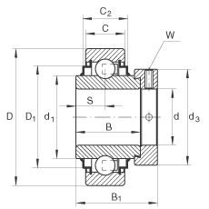 FAG Spannlager - E70-XL-KRR