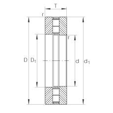 FAG Axial-Zylinderrollenlager - 89315-TV