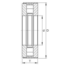 FAG Axial-Zylinderrollenlager - RCT23-B