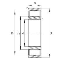FAG Toroidalrollenlager - C4015-XL-V