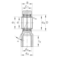 FAG Hydraulik-Gelenkköpfe - GIHNRK70-LO