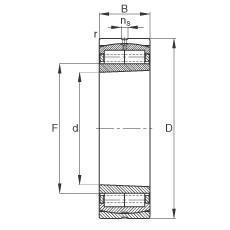FAG محامل أسطوانية - Z-566489.ZL-K-C5