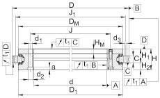 FAG Axial/radial bearings - YRTSM325