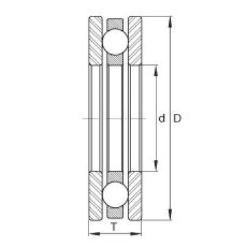 FAG Axial-Rillenkugellager - FTO10