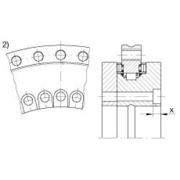 FAG Axial/radial bearings - YRTS325