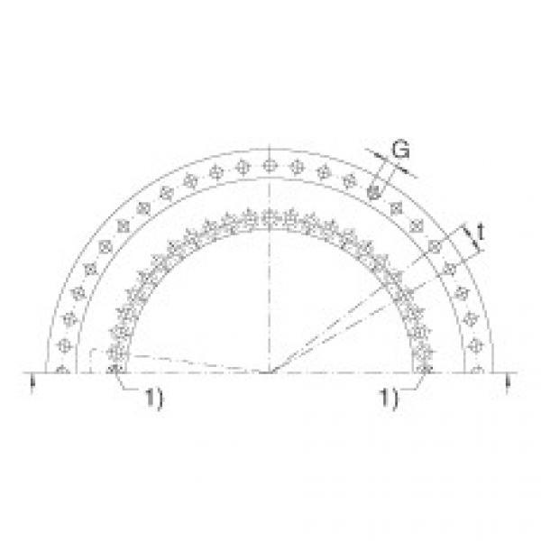FAG Axial/radial bearings - YRTSM325 #2 image