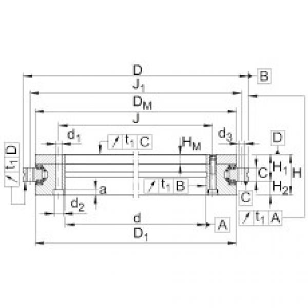 FAG Axial/radial bearings - YRTSM325 #1 image