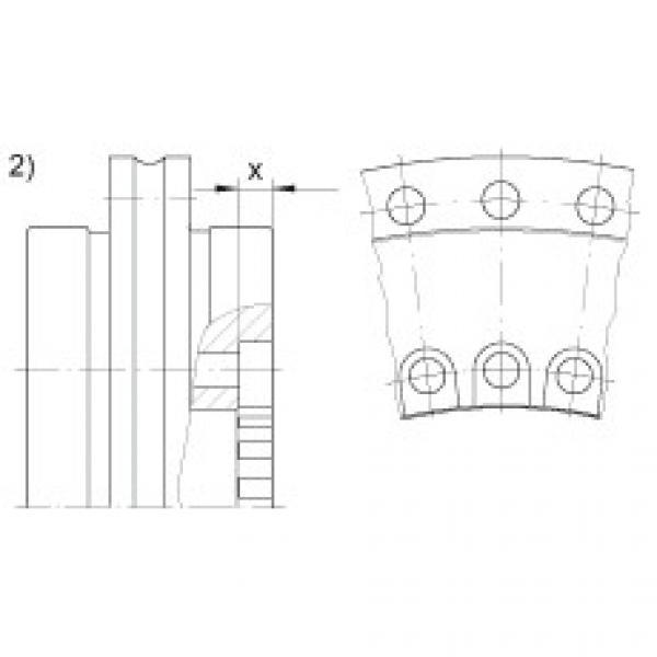 FAG Axial/radial bearings - YRTSM325 #3 image